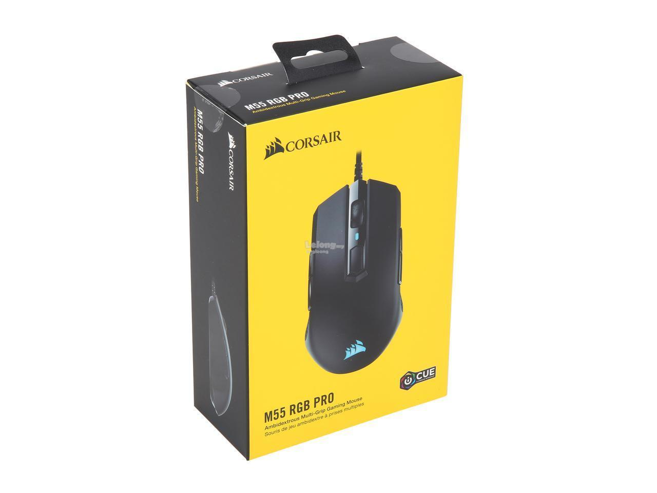 # CORSAIR M55 RGB PRO Ambidextrous Gaming Mouse #