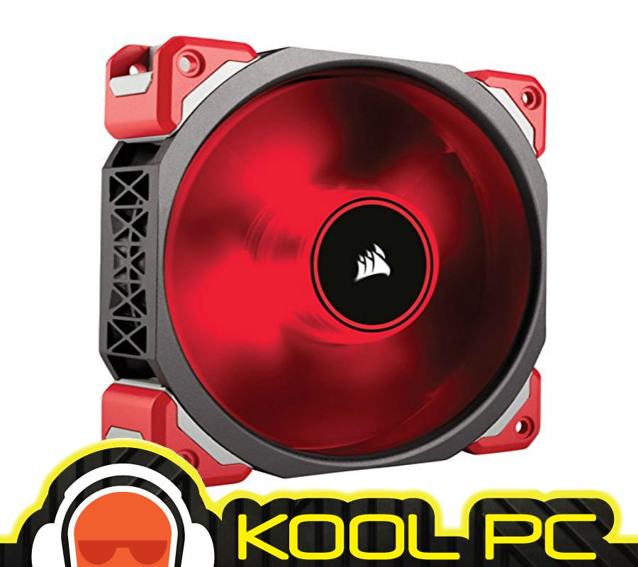 * CORSAIR ML120 PRO LED Red 120mm PWM Premium Magnetic Levitation Fan