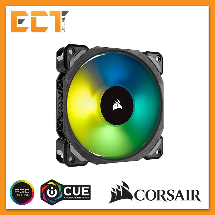 Corsair ML140 PRO RGB LED 140MM PWM Fan - Single Pack