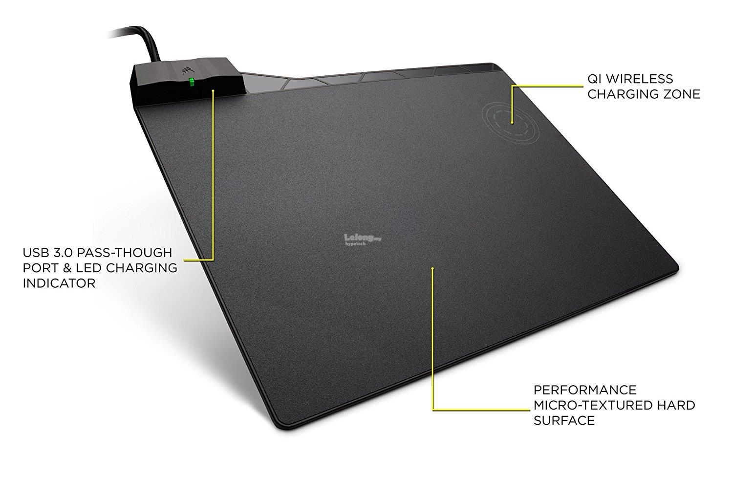 CORSAIR MM1000 Qi Wireless Charging Mouse Pad (CH-9440022-NA)