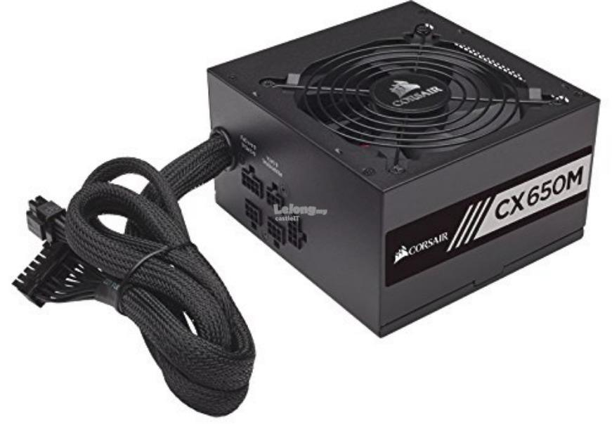 CORSAIR Power Supply CXM Series CX650M 650W (CP-9020103-UK)