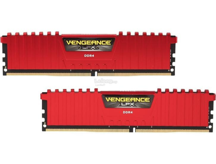 CORSAIR RAM DDR4 VENGEANCE LPX 2X 16GB PC2666 CMK16GX4M2A2666C16R