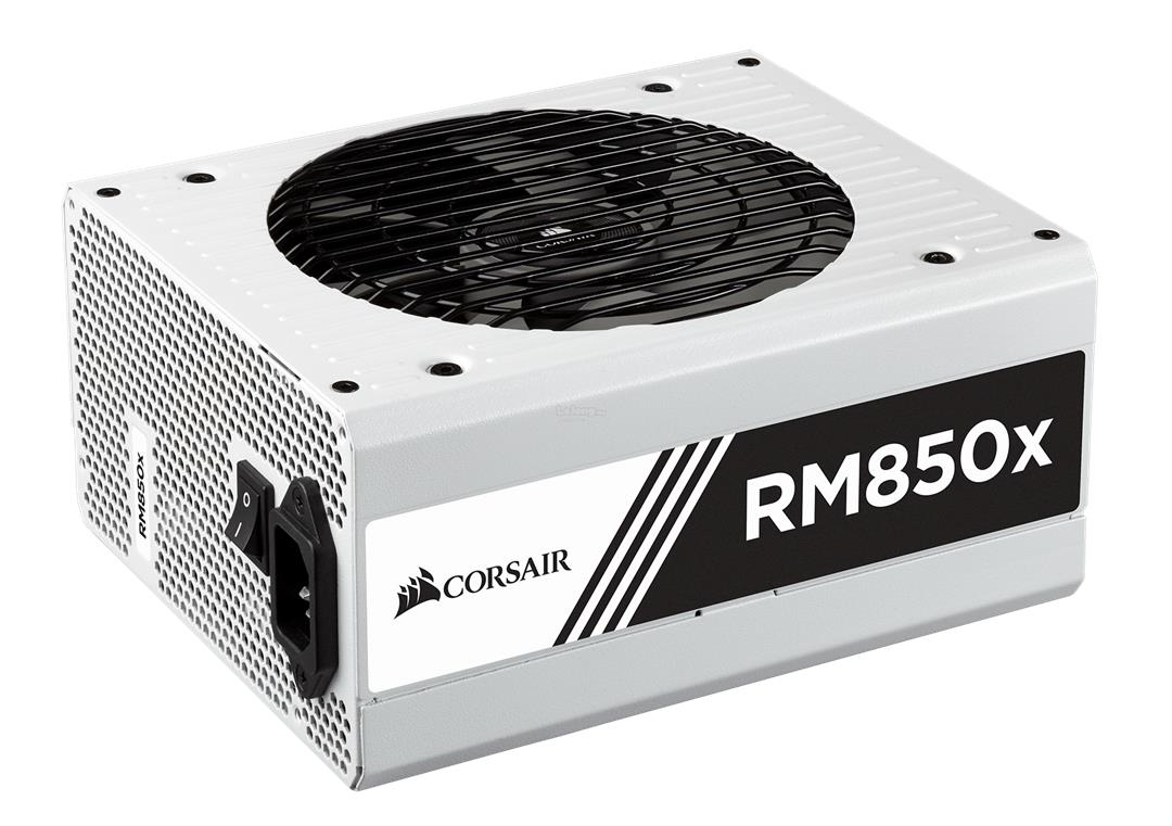 Corsair RMx White Series RM850x 850 Watt 80 PLUS Gold Full Modular PSU