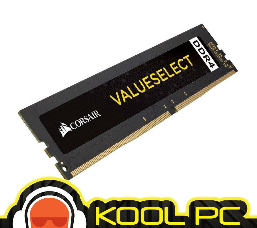 * CORSAIR VALUE SELECT DDR4  8GB (1 x 8GB) DDR4 2400 C16