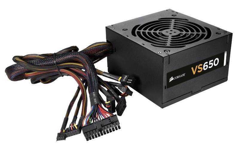# Corsair VS Series™ Entry-level ATX Power Supply # 450 | 550 | 650