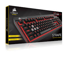 CORSAIR STRAFE MECHANICAL KEYBOARD (CH-9000088-NA) CHERRY MX RED