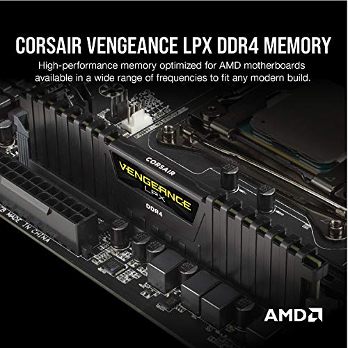 Corsair Vengeance LPX 16GB (2 X 8GB) DDR4 3600 (PC4-28800) C18 1.35V Desktop M