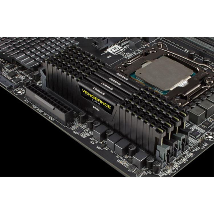 Corsair Vengeance LPX 16GB (8GBx2) DDR4 3000MHz C16 Desktop RAM -Black