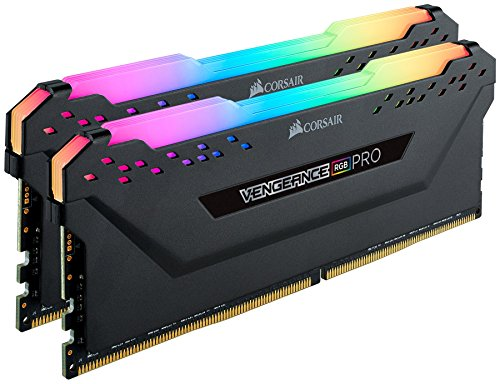 Corsair Vengeance RGB Pro 16GB (2x8GB) DDR4 3600 (PC4-28800) C18 Desktop Memor