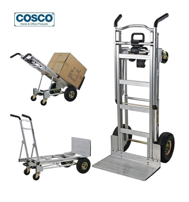 Cosco 3-in-1 Assist Series Aluminum Hand Truck/Assisted Hand Truck