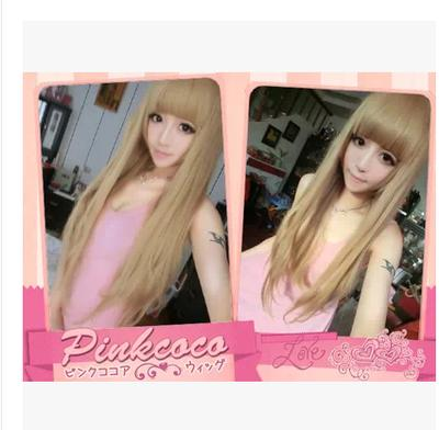 Cosplay hair wig xv6/rambut palsu/ready stock