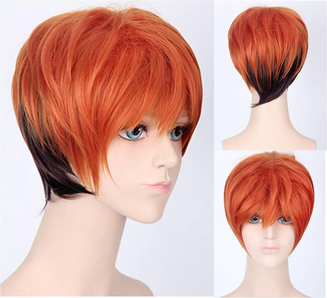 Cosplay men wig zootopia Nick Wilde Ready stock