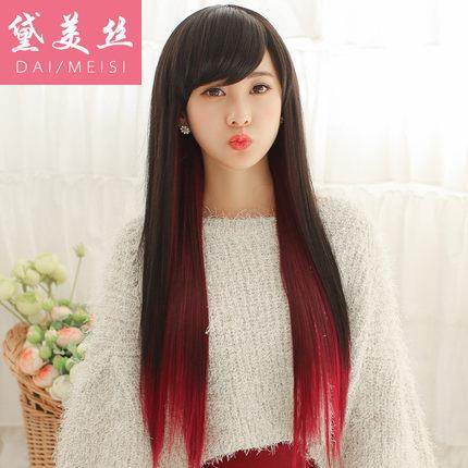 Cosplay women wig Mix colour/ ready stock/ rambut palsu/red