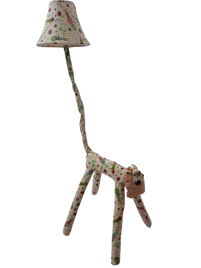 Cottage Lovely Creative Cartoon Fabric Lion Led Floor Lamp (LGT0014RD)