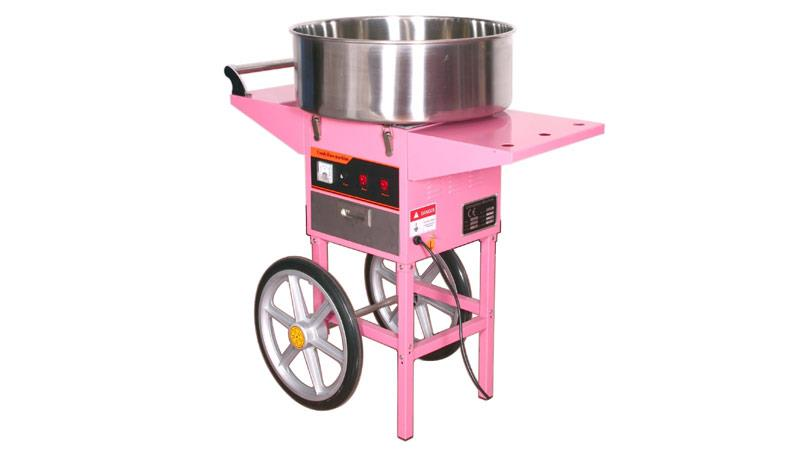Cotton candy floss gula kapas maker commercial machine electric stand