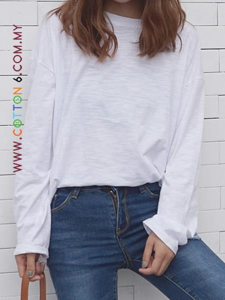 Cotton Loose T Shirt