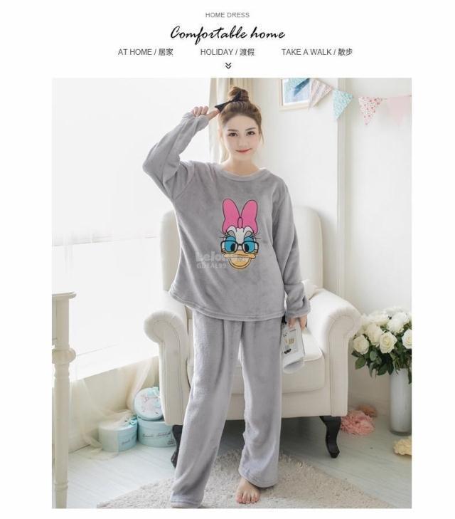 Cotton pajamas women s winter cute (end 12 6 2019 12 15 AM) c626903639a8