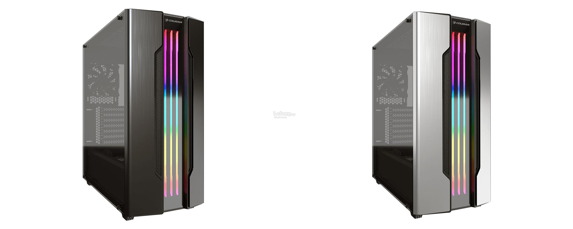 # COUGAR Gemini S RGB Mid Tower Gaming Case # 2 Color Available