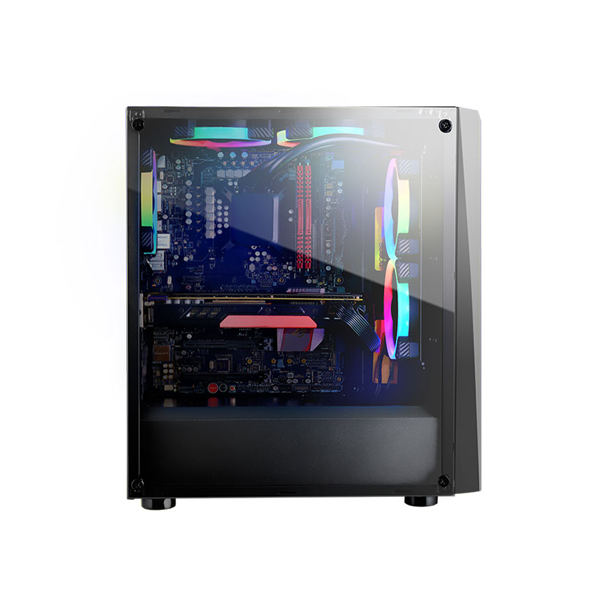 Cougar MX340 Mid-Tower Tempered Glass Gaming Casing / Chasis