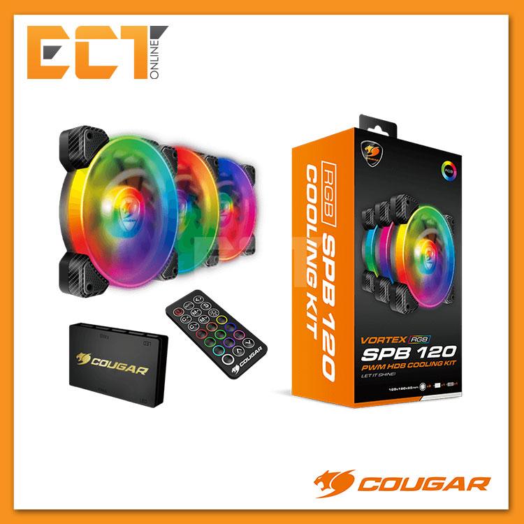 a625a3121914c Cougar Vortex RGB SPB 120 PWM HDB C (end 5 24 2021 12 00 AM)