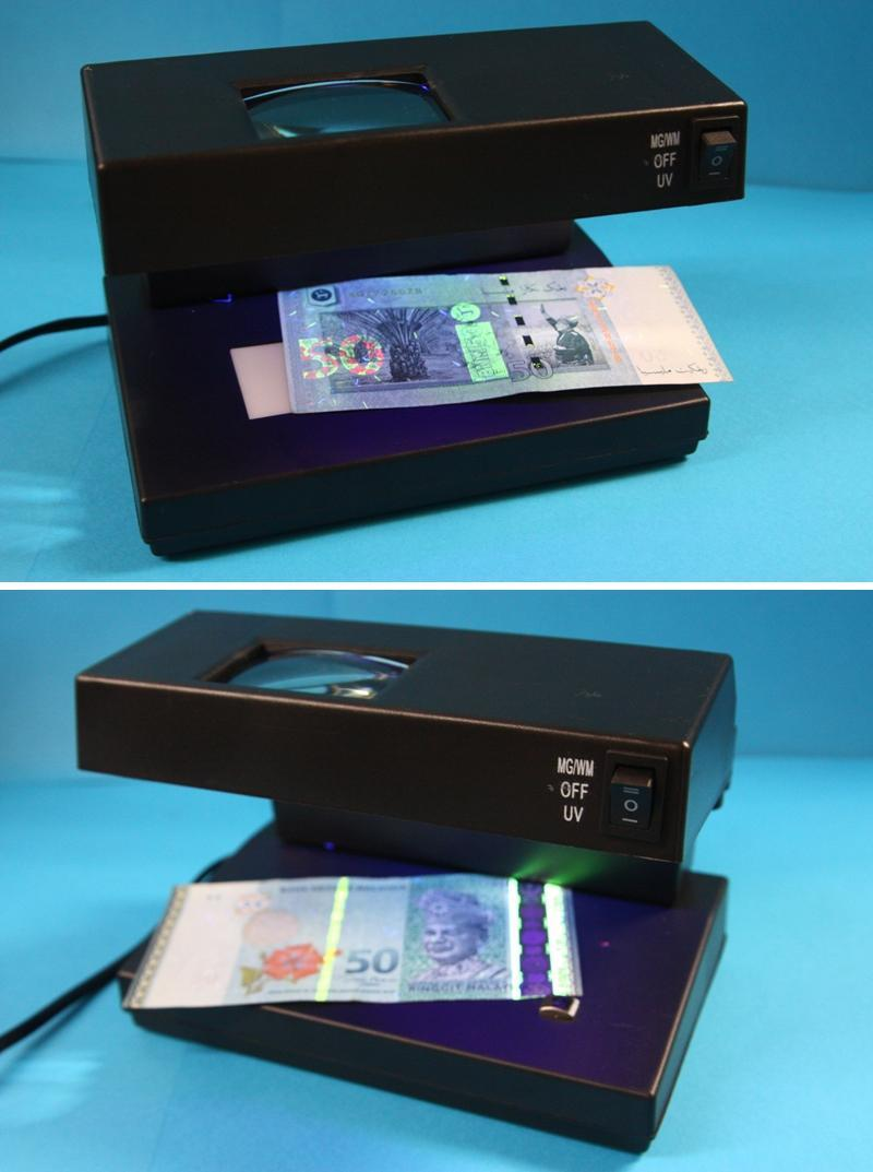 Counterfeit Money Detector Multi-function Magnifying Money Detector