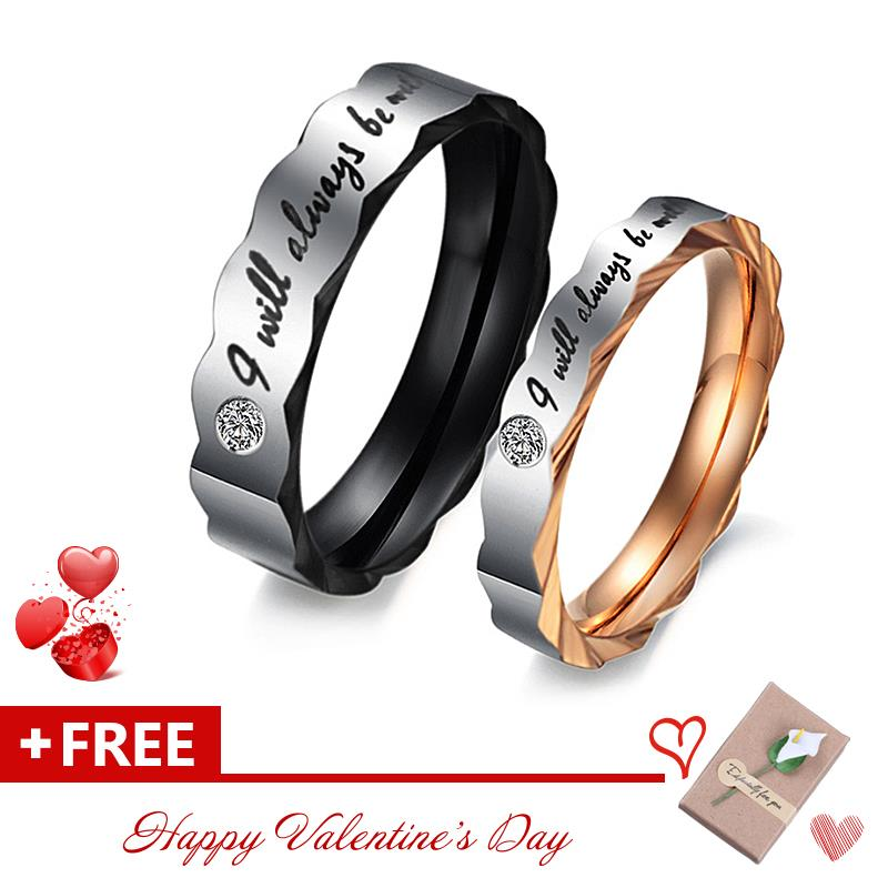 Couple Promise Rings For Wedding Unqiue Design Valentineu0027s Day