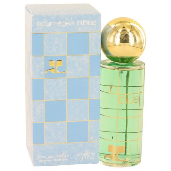 Courreges In Blue By Courreges Eau De Parfum Spray 3.4 Oz For Women