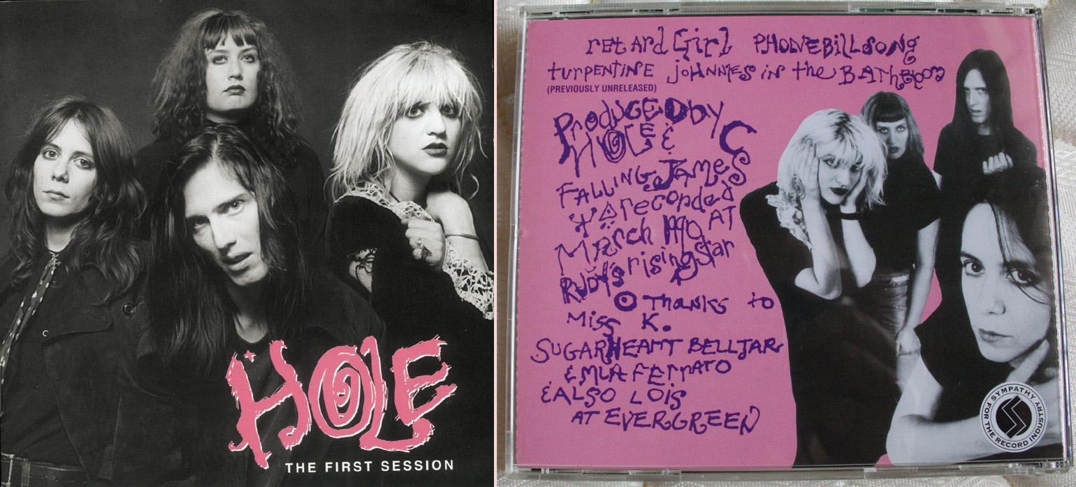 Courtney Love - Hole 'The First Session' CD