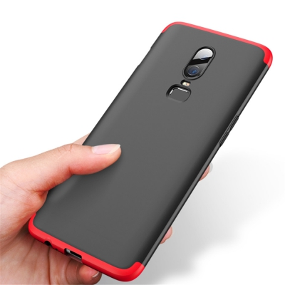 best website 9c1bd 46089 Cover Case for OnePlus 6 Full Protection Hard PC 3 in 1 Fundas Coque Back  (MUL