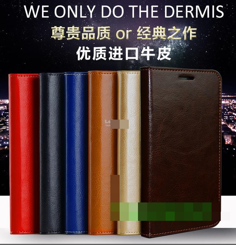 Cow Leather Xiaomi Mi Max Mix 2 Mix2 MiMax2 Flip Case Cover Casing
