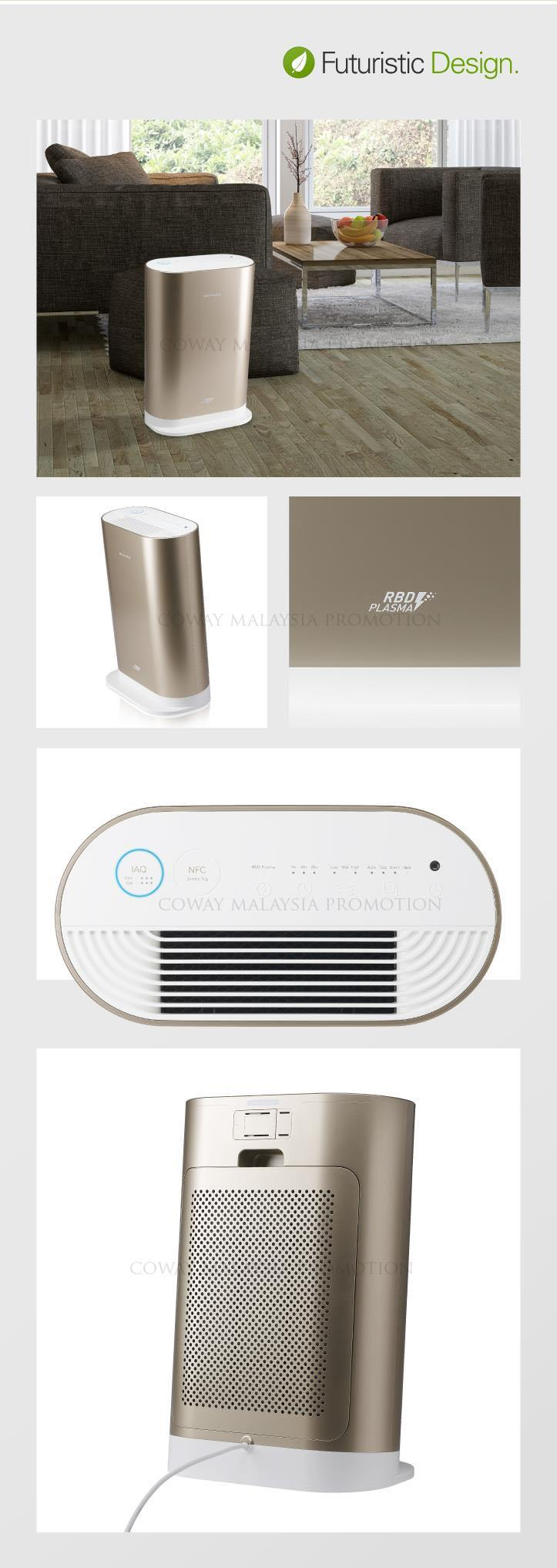 coway rental air purifier indicator ap1016a