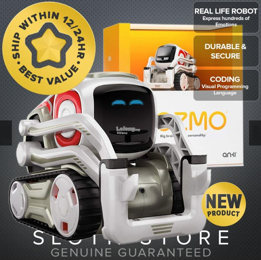 Cozmo and Vector By Anki Electronic Learning Toy
