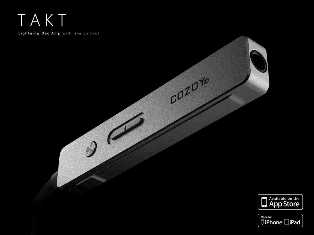 Cozoy Takt Pro - Portable DAC Headphone IEM Amp For iPhone/PC/Android