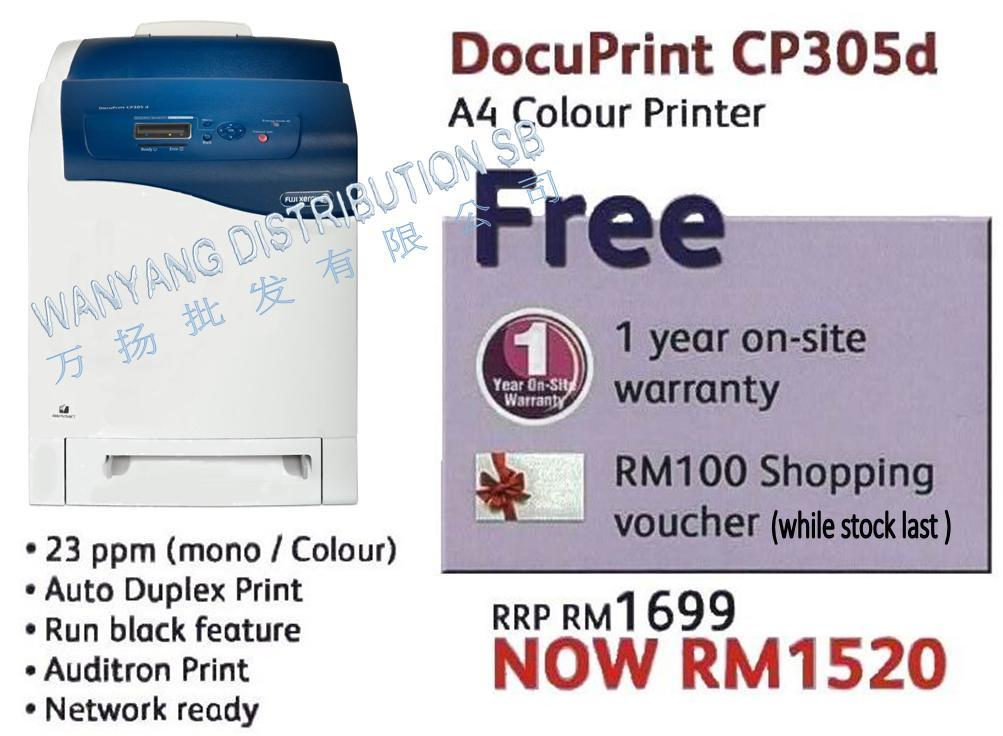 DOCUPRINT CP305D TREIBER WINDOWS XP