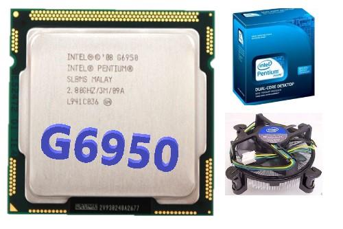 CPU Intel® Pentium® Processor G6950 with heatsin Socket 1156 Dual Co