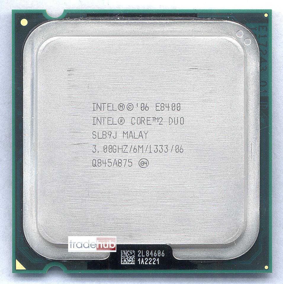 DRIVER: INTEL CORE 2 DUO CPU E8400