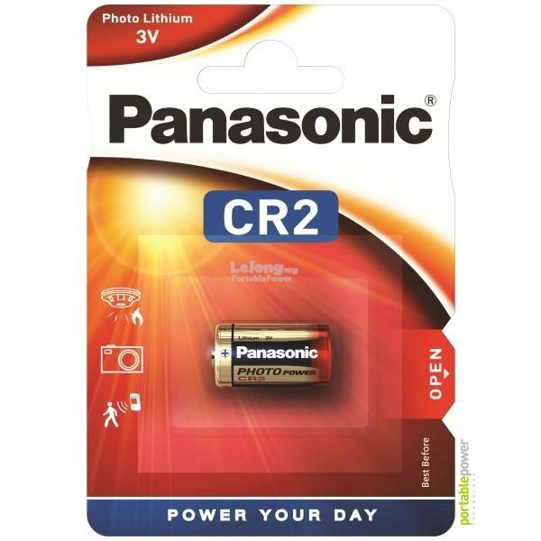 CR-2W/1BE Panasonic CR2 PhotoPower Lithium -3V -850mAh