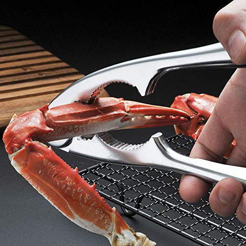 Crab and Lobster Tools - Crab Leg Crackers and Picks Set, Picks Knife for Crab