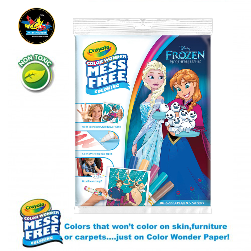 Crayola Color Wonder Mess Free Colori (end 5/3/2020 5:27 PM)