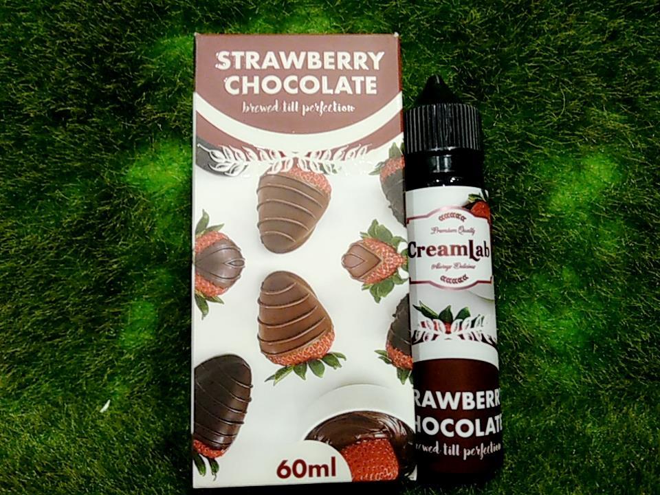 Cream Lab strawberry chocolate (6MG & 12MG @ 60ML) E Liquid Vape