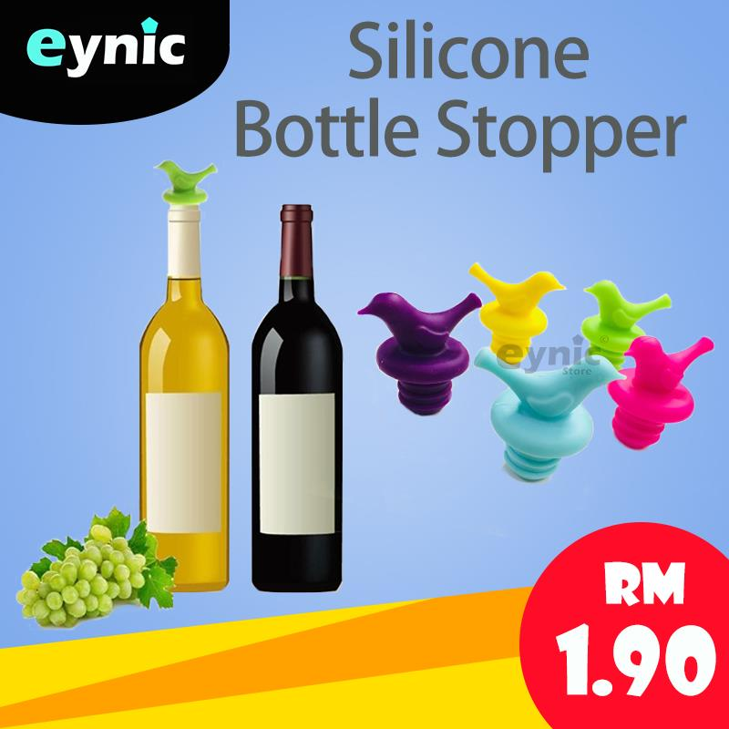 Creative Bird Design Silicone Wine Bottle Stopper