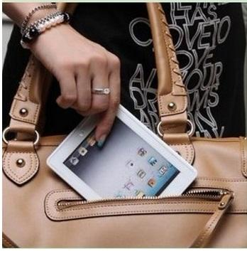 Creative IPAD 2 Shape~Mini Folding Portable Mirror