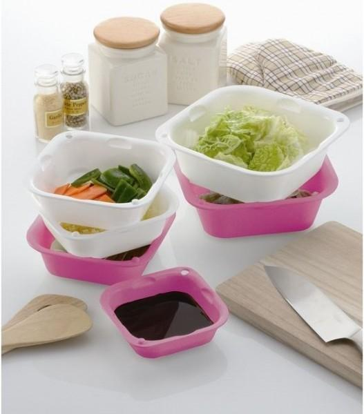 Creative Kitchen Sieve Drip Tray 6pcs
