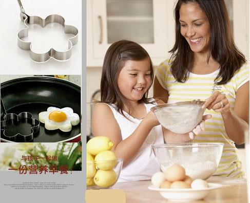 Creative Plum Shape Fried Egg Mold