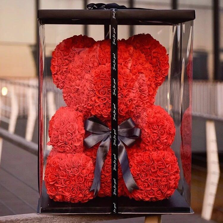Creative Red Rose Bear Valentines Ha End 10 6 2019 7 15 Pm