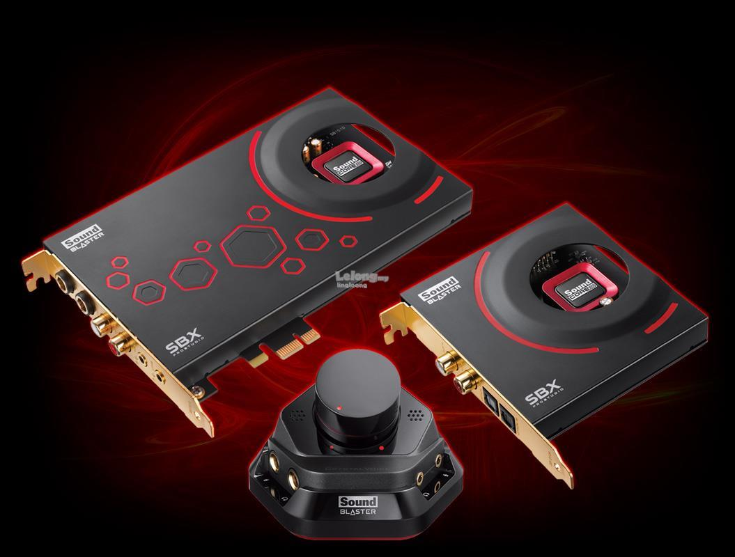 Creative Sound Blaster ZxR High Performance PCIe Sound Card