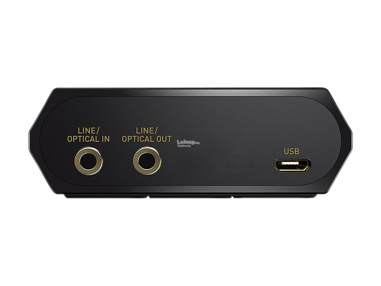 # CREATIVE Sound BlasterX G6 7.1 HD External Sound Card #