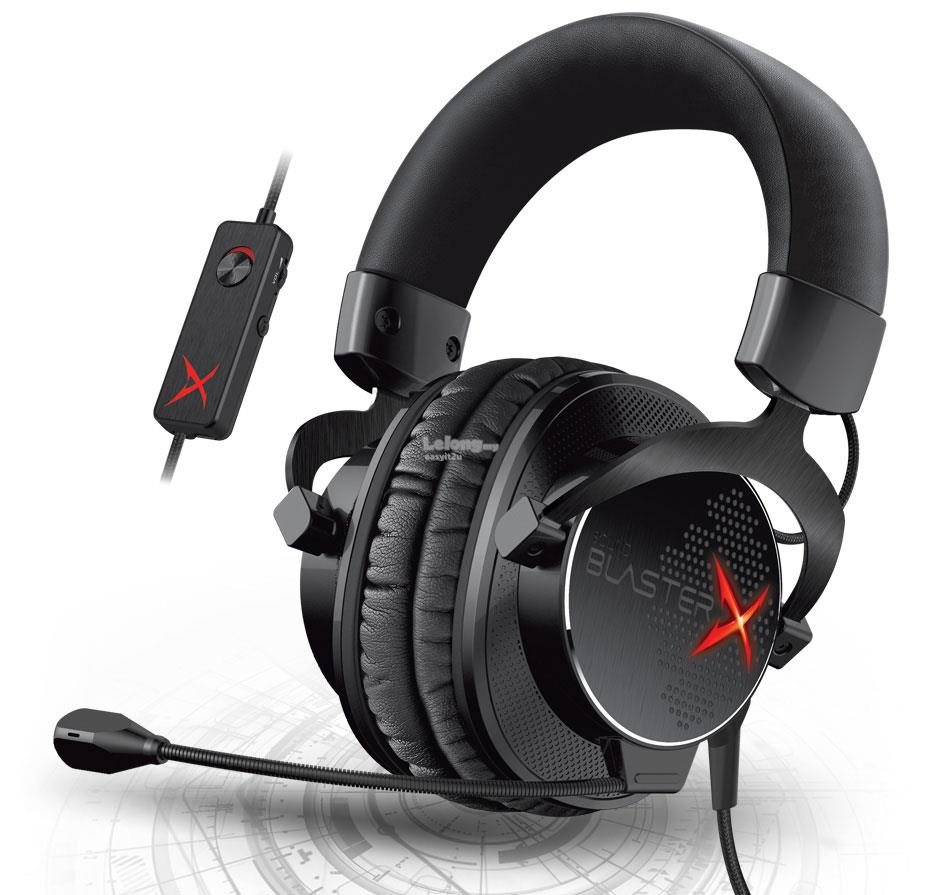 CREATIVE SOUND BLASTERX H7 TOURNAMENT EDITION GAMING HEADSET