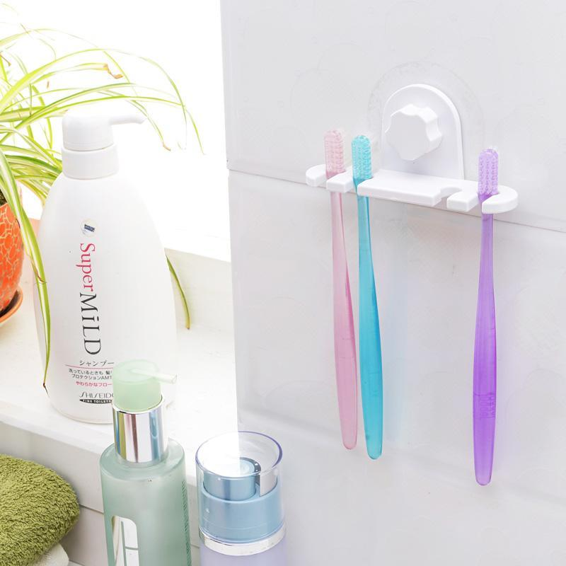 Creative Toothbrush Holder with Static Film