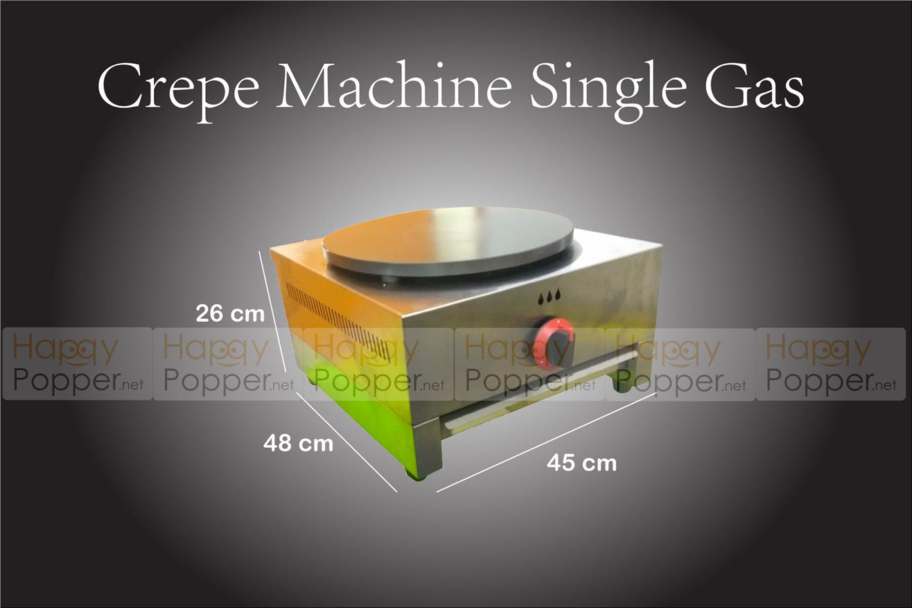 CREPE MACHINE GAS (S)